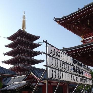 1浅草寺五重塔