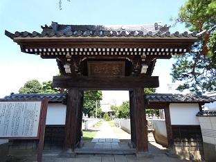 6 法要寺門