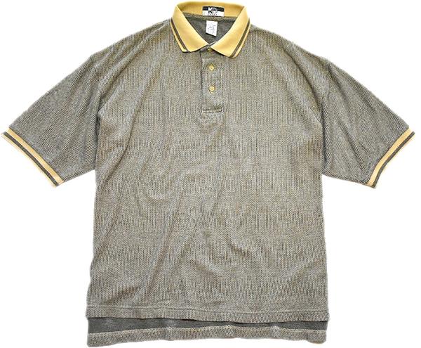 POLO-sh半袖ポロシャツ画像メンズレディースコーデ@古着屋カチカチ