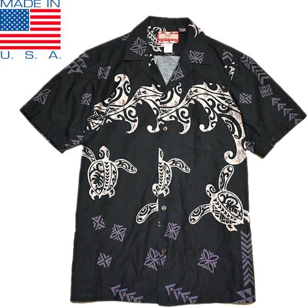 USEDアロハAlohaハワイアンシャツ柄シャツ画像メンズレディースコーデ@古着屋カチカチ01