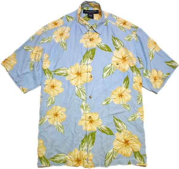 USEDアロハAlohaハワイアンシャツ柄シャツ画像メンズレディースコーデ@古着屋カチカチ07
