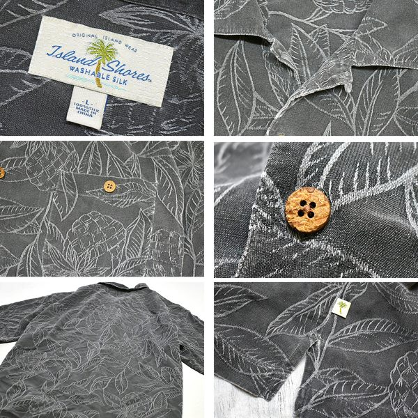 USEDアロハAlohaハワイアンシャツ柄シャツ画像メンズレディースコーデ@古着屋カチカチ010