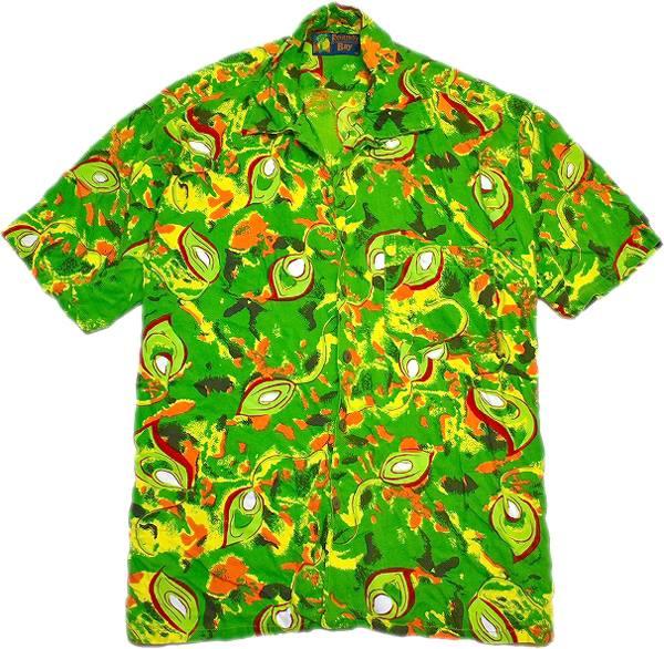 USEDアロハAlohaハワイアンシャツ柄シャツ画像メンズレディースコーデ@古着屋カチカチ011