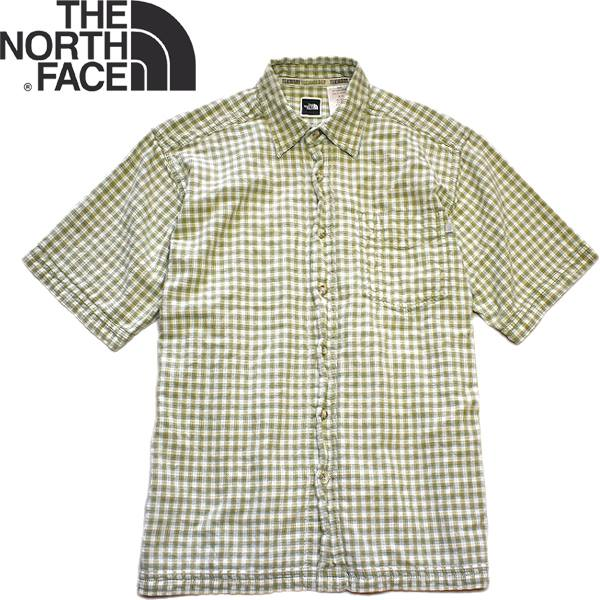 Used半袖チェックシャツ画像メンズレディースコーデ@古着屋カチカチ03