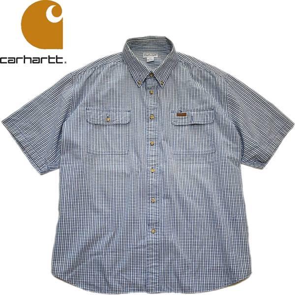 Used半袖チェックシャツ画像メンズレディースコーデ@古着屋カチカチ06