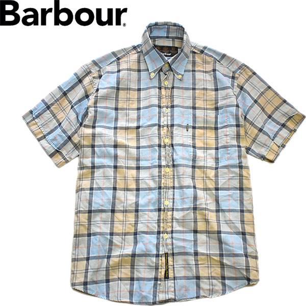 Used半袖チェックシャツ画像メンズレディースコーデ@古着屋カチカチ07