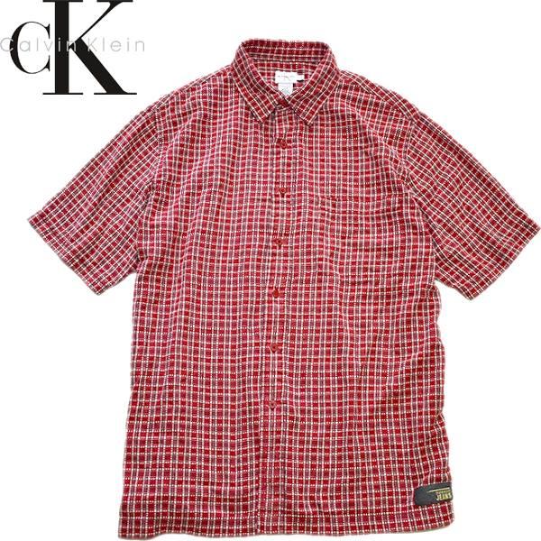 Used半袖チェックシャツ画像メンズレディースコーデ@古着屋カチカチ08