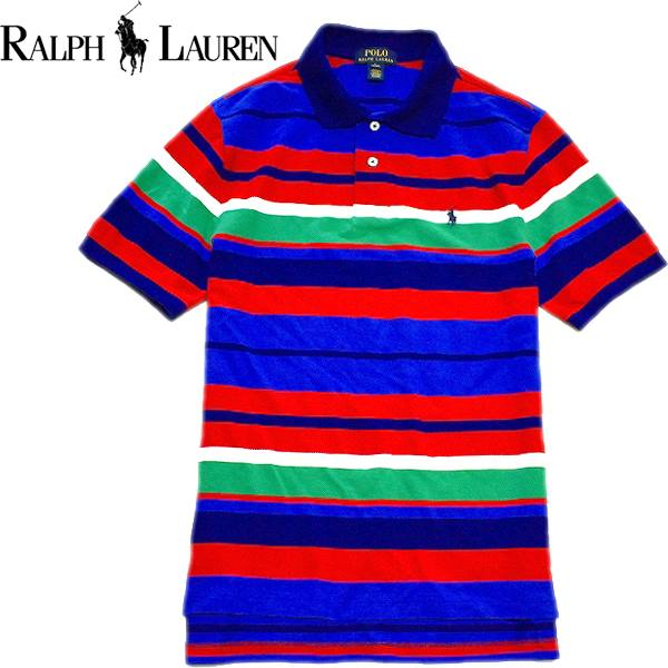 ポロラルフローレンPOLO Ralph Lauren半袖ポロシャツ画像メンズレディースコーデ@古着屋カチカチ01