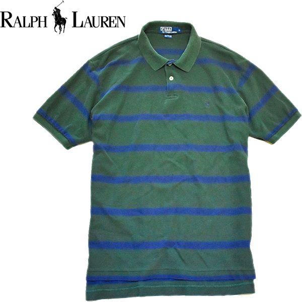ポロラルフローレンPOLO Ralph Lauren半袖ポロシャツ画像メンズレディースコーデ@古着屋カチカチ04