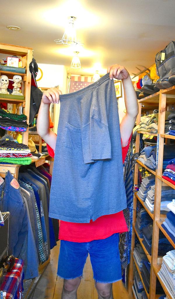ポケットTシャツPocketTee画像メンズレディースコーデ@古着屋カチカチ01