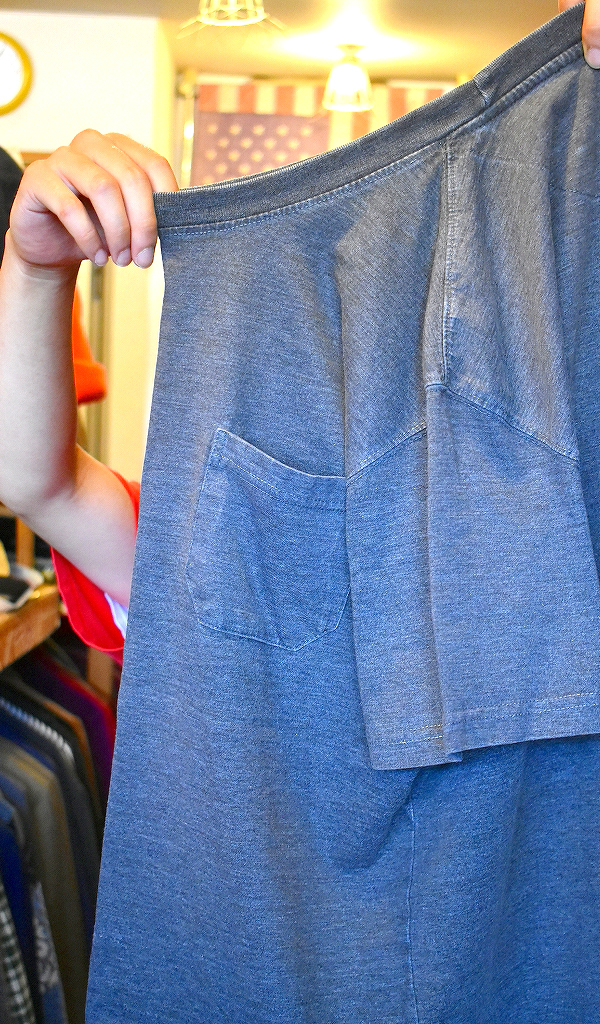 ポケットTシャツPocketTee画像メンズレディースコーデ@古着屋カチカチ02