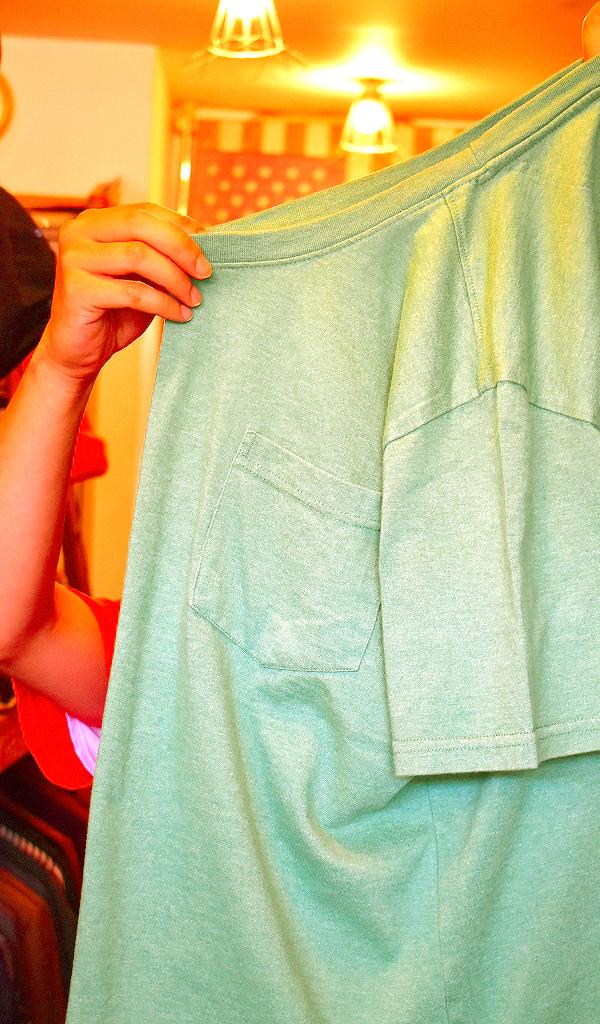 ポケットTシャツPocketTee画像メンズレディースコーデ@古着屋カチカチ06