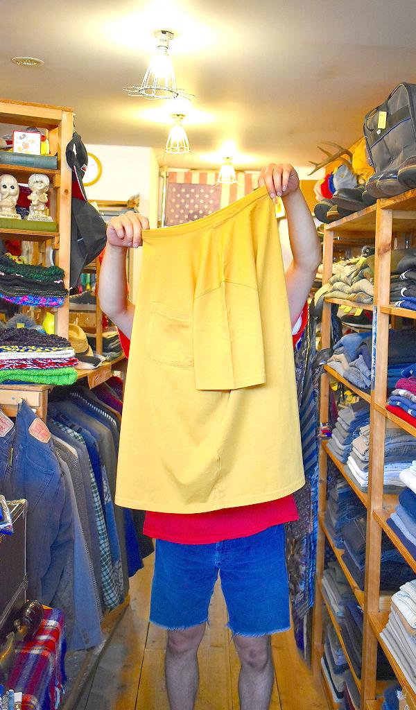 ポケットTシャツPocketTee画像メンズレディースコーデ@古着屋カチカチ09