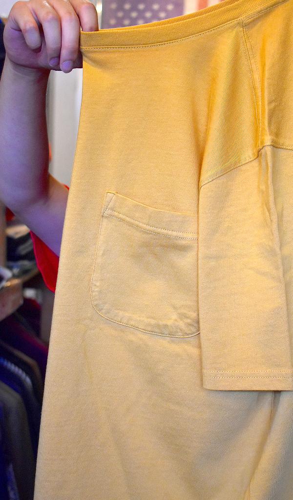 ポケットTシャツPocketTee画像メンズレディースコーデ@古着屋カチカチ010