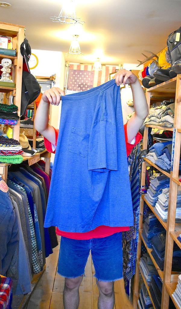 ポケットTシャツPocketTee画像メンズレディースコーデ@古着屋カチカチ013