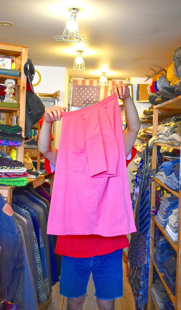 ポケットTシャツPocketTee画像メンズレディースコーデ@古着屋カチカチ015