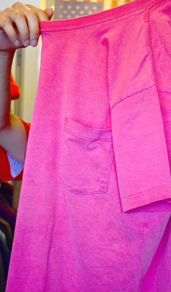 ポケットTシャツPocketTee画像メンズレディースコーデ@古着屋カチカチ016