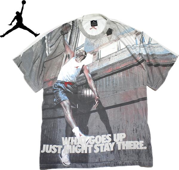 ジョーダンJORDANプリントTシャツ画像@古着屋カチカチ (2)