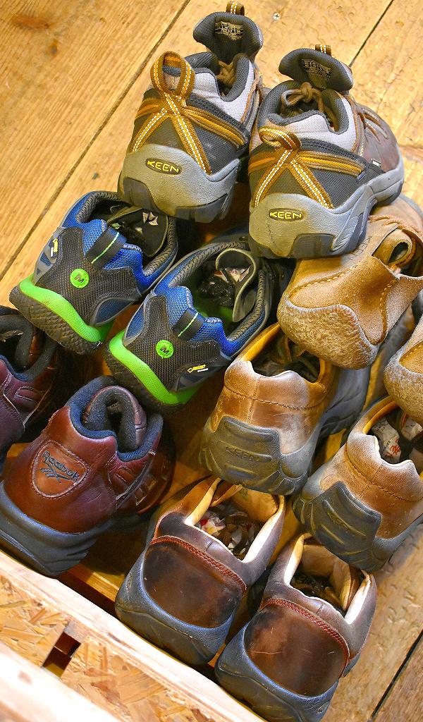 Trekking ShoesトレッキングシューズKeenキーン画像スニーカーコーデ@古着屋カチカチ01