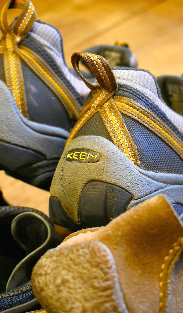 Trekking ShoesトレッキングシューズKeenキーン画像スニーカーコーデ@古着屋カチカチ02