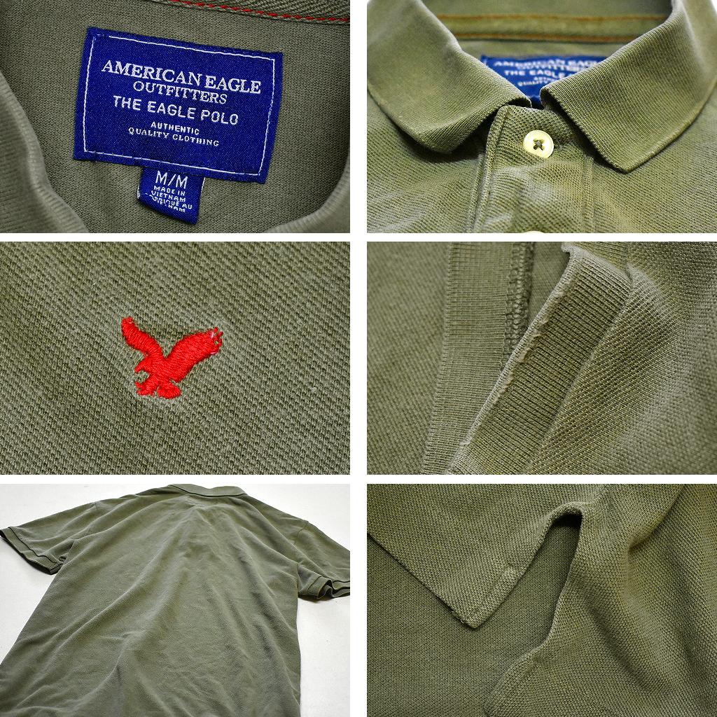 アメカジUSAブランド アバクロ ホリスター アメリカンイーグル半袖ポロシャツ画像@古着屋カチカチ