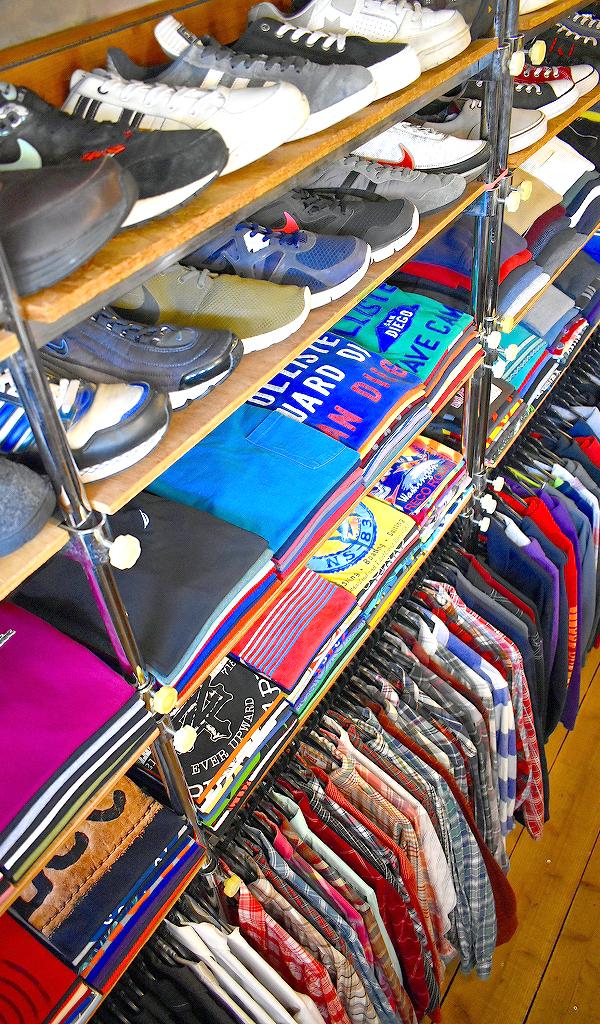 古着屋カチカチ店内画像2018SSアメカジスタイルコーデのショップ東京都北区王子