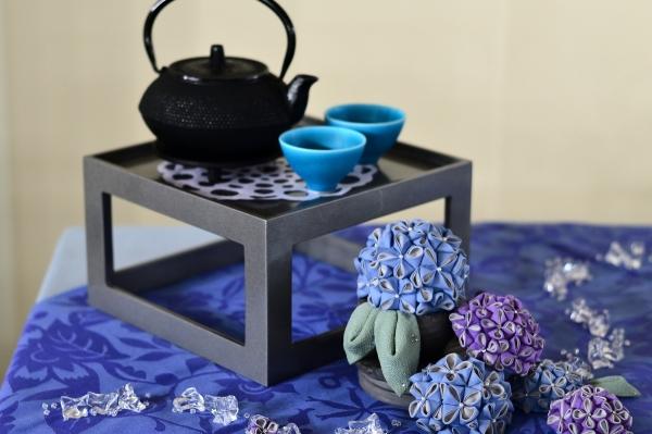 雨と紫陽花4