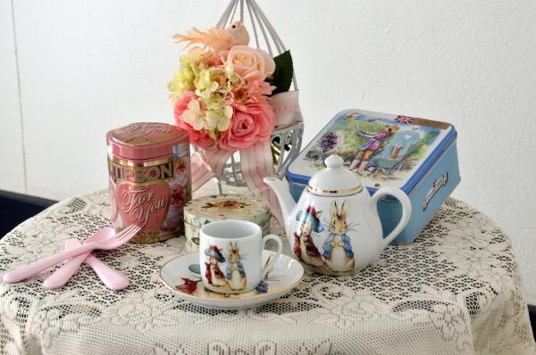 イギリス花と器17