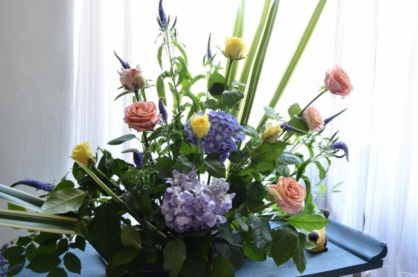 イギリス花と器14