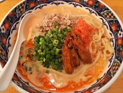 極濃蝦蟹湯麺