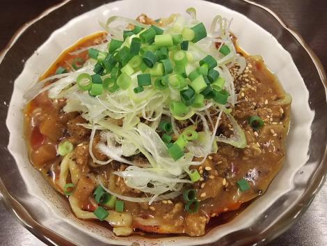 ピリ辛冷やし味噌麺
