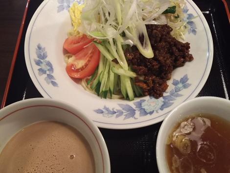 ジャージャー麺風のつけ麺