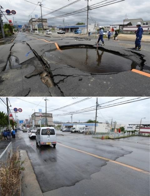 海外「日本の凄さを思い知った!」地震で陥没した大阪の道路がもう復旧してると話題に