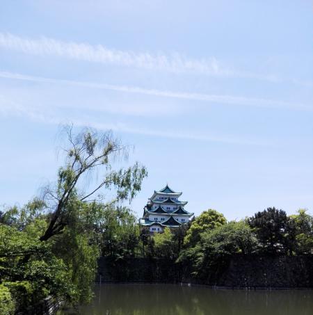 5.11 名古屋城