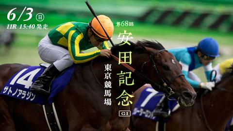 【競馬展望】第68回 農林水産省賞典安田記念(GⅠ)