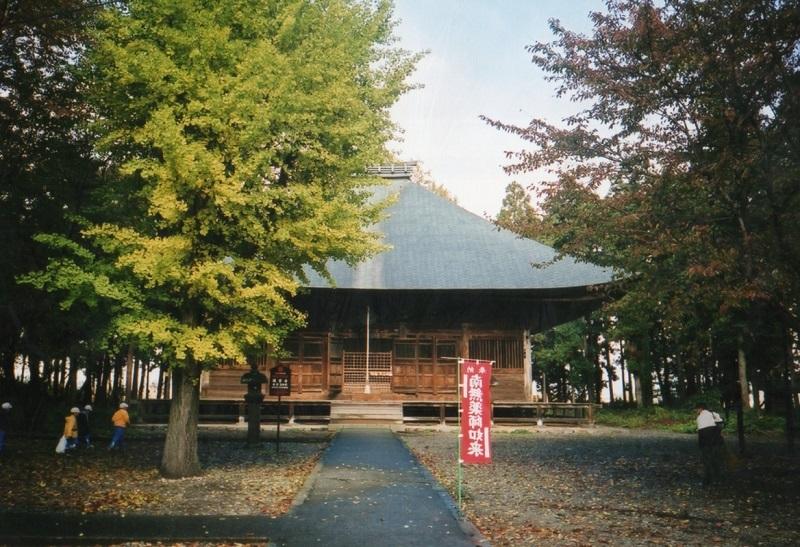 平成14年、再訪したときの勝常寺本堂