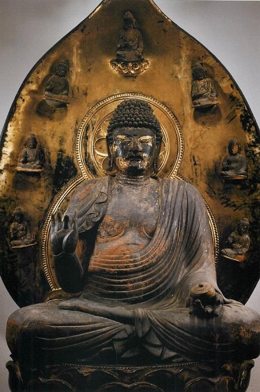 黒石寺・薬師如来像(貞観4年~862年銘・重要文化財)