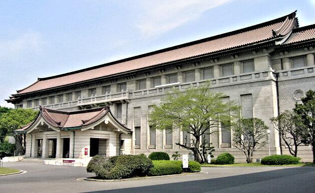 「平安彫刻展」が開催された東京国立博物館・本館