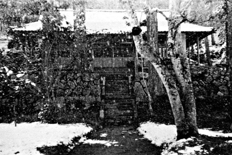 昭和30年代の古保利薬師堂・本堂の写真