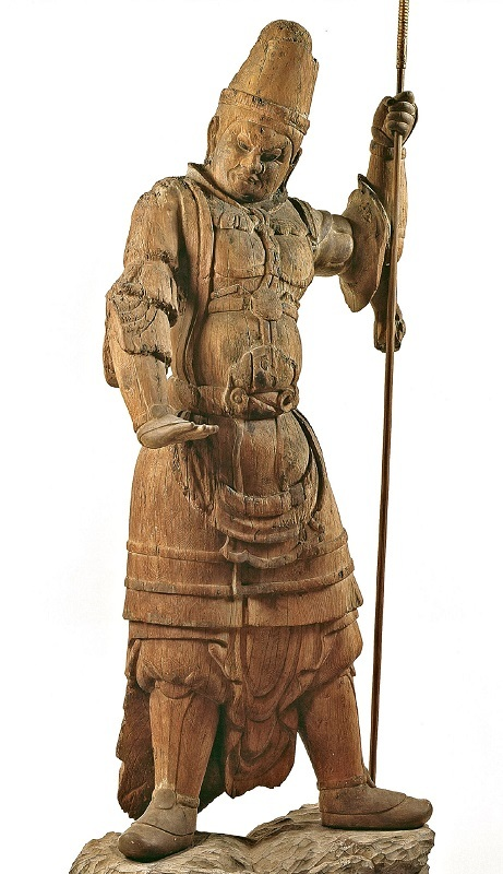 島根 萬福寺・四天王像(9~10C・重文)