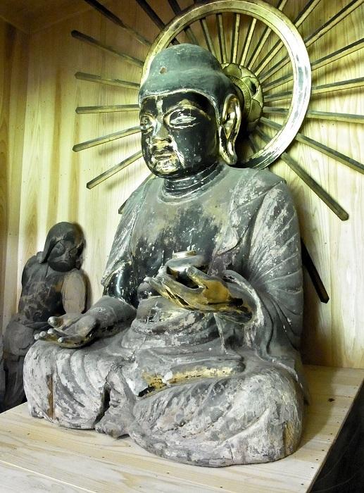 京都 安楽寺・薬師如来像