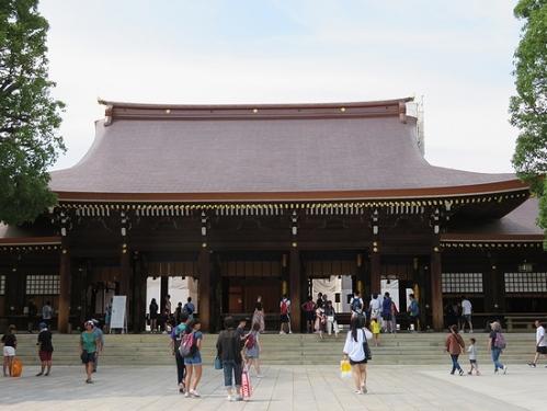 明治神宮拝殿
