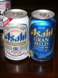 アサヒビール「アサヒ生ビール」&「グランマイルド」