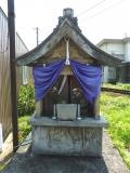 富山地鉄榎町駅 六道能化地蔵尊