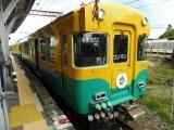 富山地鉄10030形10031F 岩峅寺駅にて