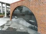 JR軽井沢駅 もみじの広場の壁画軽井沢町民憲章