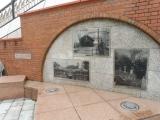 JR軽井沢駅 おおやまざくらの広場の壁画1