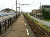 富山地鉄大泉駅 ホーム