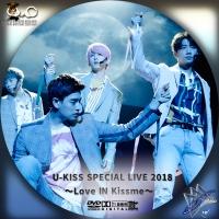 U-KISS SPECIAL LIVE 2018◇DVD
