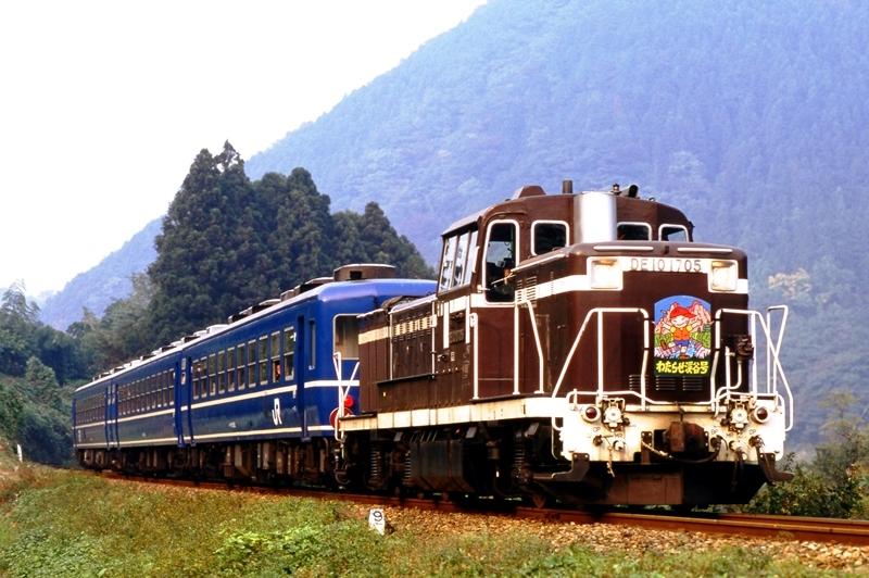 1997年10月25日 本宿~上神梅にて